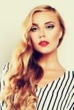 Stylish Fashion Model Girl Royalty Free Stock Photos