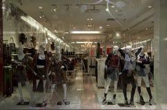 Stylish fashion store Stock Images