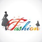 Stylish Fashion Text. Stock vector design Stock Image