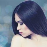 Stylish fashionable female portrait Stock Image