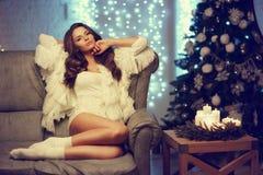 Stylish fashionable girl Royalty Free Stock Photo