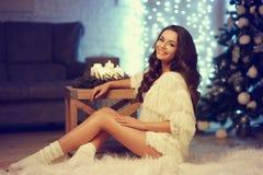 Stylish fashionable girl Stock Photography