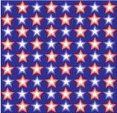 Stylish flag from stars. Royalty Free Stock Image