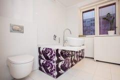 Stylish flat - Modern bathroom Stock Images