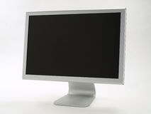 Stylish Flat Panel Monitor Royalty Free Stock Photo