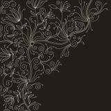 Stylish floral background Royalty Free Stock Image