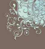 Stylish floral background Royalty Free Stock Images