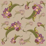 Stylish  floral background. Royalty Free Stock Photography