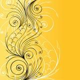 Stylish floral background Stock Image