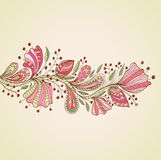Stylish floral background Royalty Free Stock Photo