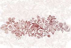 Stylish floral background Royalty Free Stock Photo