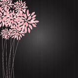 Stylish Floral Background Vector Illustration Royalty Free Stock Photos