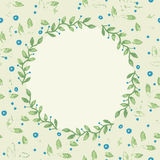 Stylish floral background. Royalty Free Stock Photos