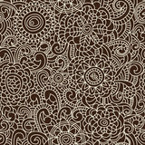 Stylish floral seamless pattern royalty free illustration