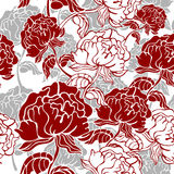 Stylish floral seamless pattern Stock Image