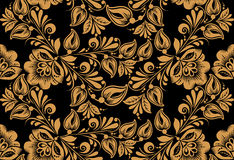 Stylish floral seamless pattern Royalty Free Stock Images