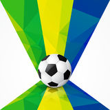 Stylish football design. Vector stylish football design art background Stock Image