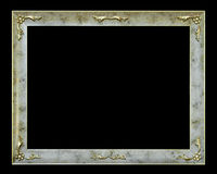 Stylish frame with flowers Stock Photo