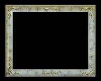 Stylish frame with flowers Stock Photo