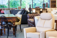 Stylish furniture Royalty Free Stock Photos