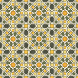 Stylish geometric ornament Stock Image