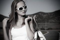 Stylish girl Royalty Free Stock Photos