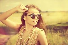 Stylish girl Stock Photo