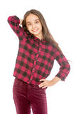 Stylish girl of secondary school age Stock Photo