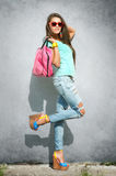 Stylish girl Royalty Free Stock Photo