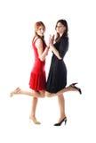 Stylish girls Royalty Free Stock Image