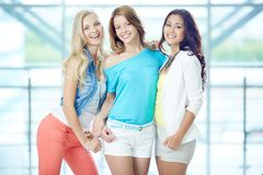 Stylish girls Royalty Free Stock Photography