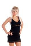 Stylish, glamour girl Royalty Free Stock Images