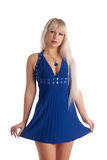 Stylish, glamour girl Royalty Free Stock Photography