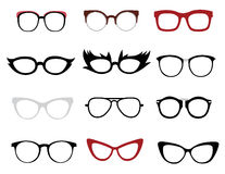 Stylish glasses Stock Photos