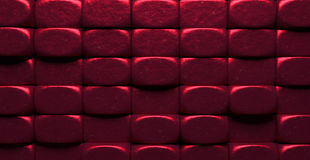 Stylish Glowing Red Metal Blocks Background Royalty Free Stock Photo