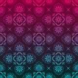 Stylish background made of floral pattern Stock Photography