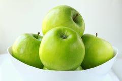 Stylish  Granny Smith apples Royalty Free Stock Image