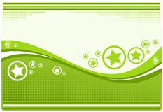 Stylish green background Royalty Free Stock Photo