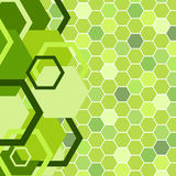 Stylish green banner Royalty Free Stock Images