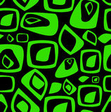 Stylish green and black background Stock Images