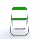 Stylish green chair Stock Photo