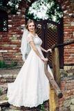 Stylish bride Stock Photography
