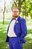 Stylish groom Royalty Free Stock Image