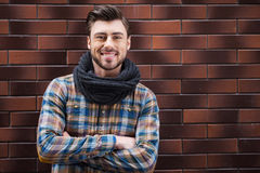 He is a stylish guy. Royalty Free Stock Photo