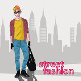 Stylish guy Stock Images