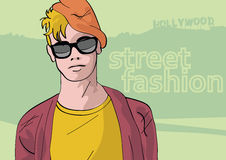 Stylish guy Royalty Free Stock Image