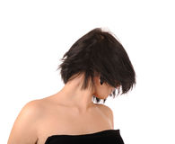 Stylish hairdress Stock Photography