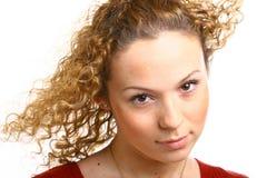 Stylish hairs Royalty Free Stock Image
