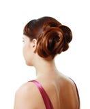 Stylish hairstyle Stock Image
