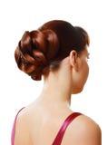 Stylish hairstyle Royalty Free Stock Photo